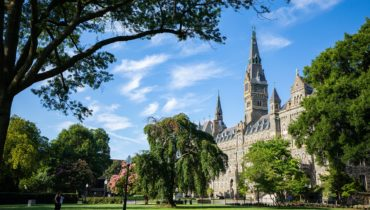 Link to Study Gender, Peace, and Security at Georgetown this Fall!