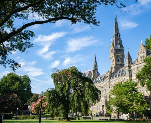 Georgetown University's Healy Hall