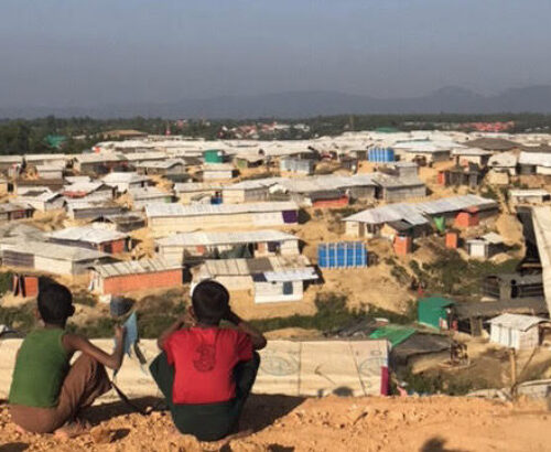 Kutupalong Refugee Camp in Bangladesh in 2017.