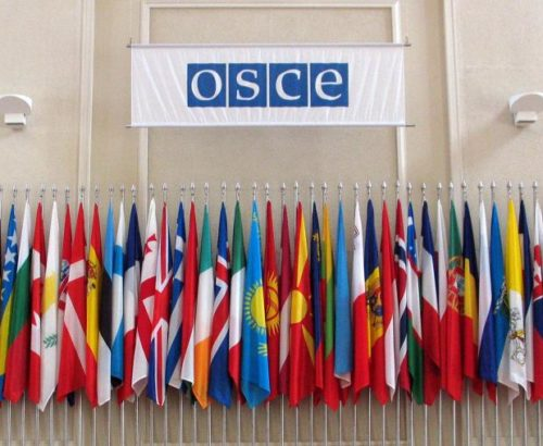 Flags of OSCE participating states