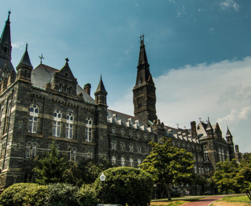 Georgetown University campus, Healy Hall
