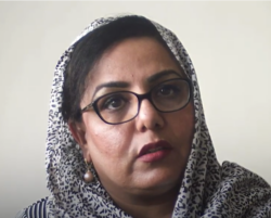 Photo of Mary Akrami, director of the Afghan Women Skills Development Center.