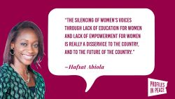 Decorative thumbnail showing an image of Hafsat Abiola