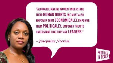 Link to Josephine Nzerem