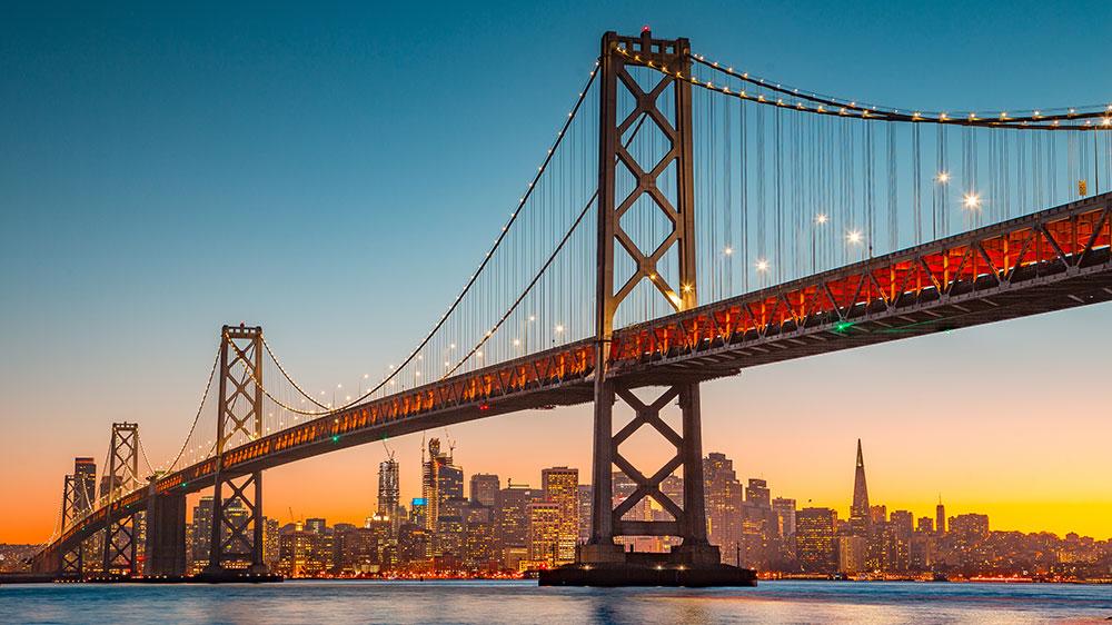 San Francisco, California skyline