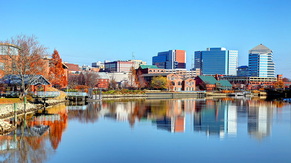 Wilmington, Delaware skyline