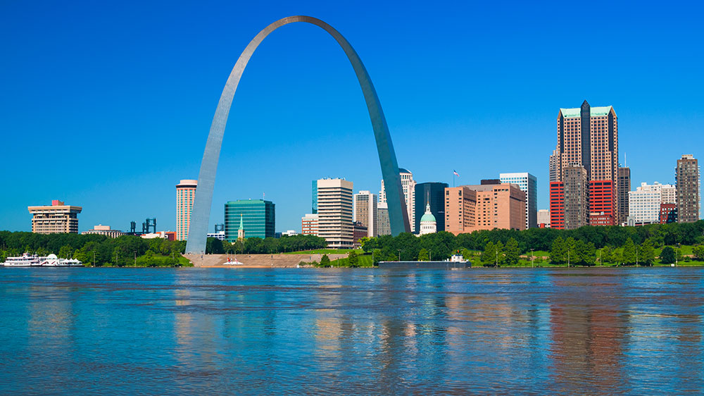 St. Louis, Missouri skyline