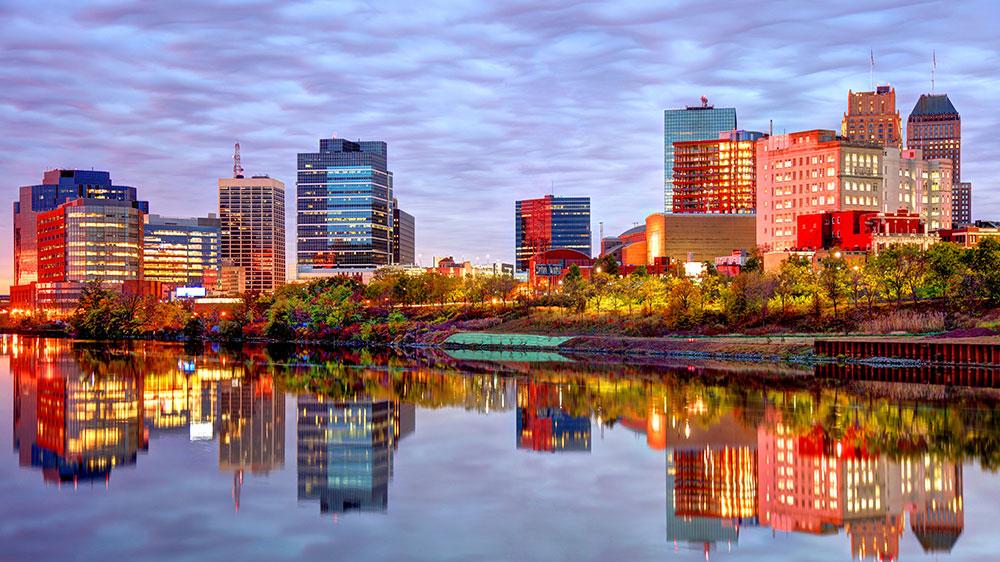 Newark, New Jersey skyline