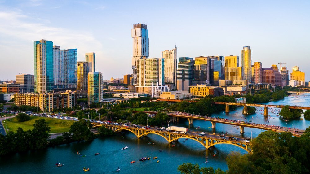 Austin, Texas Skyline.