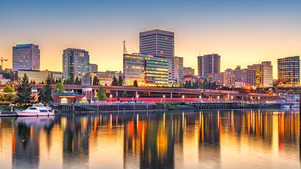 Tacoma, Washington skyline