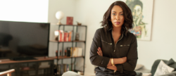 A Photo of Jessica Matthews, founder and CEO of Uncharted Power, wearing business casual clothing