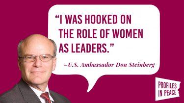 Link to Ambassador Don Steinberg