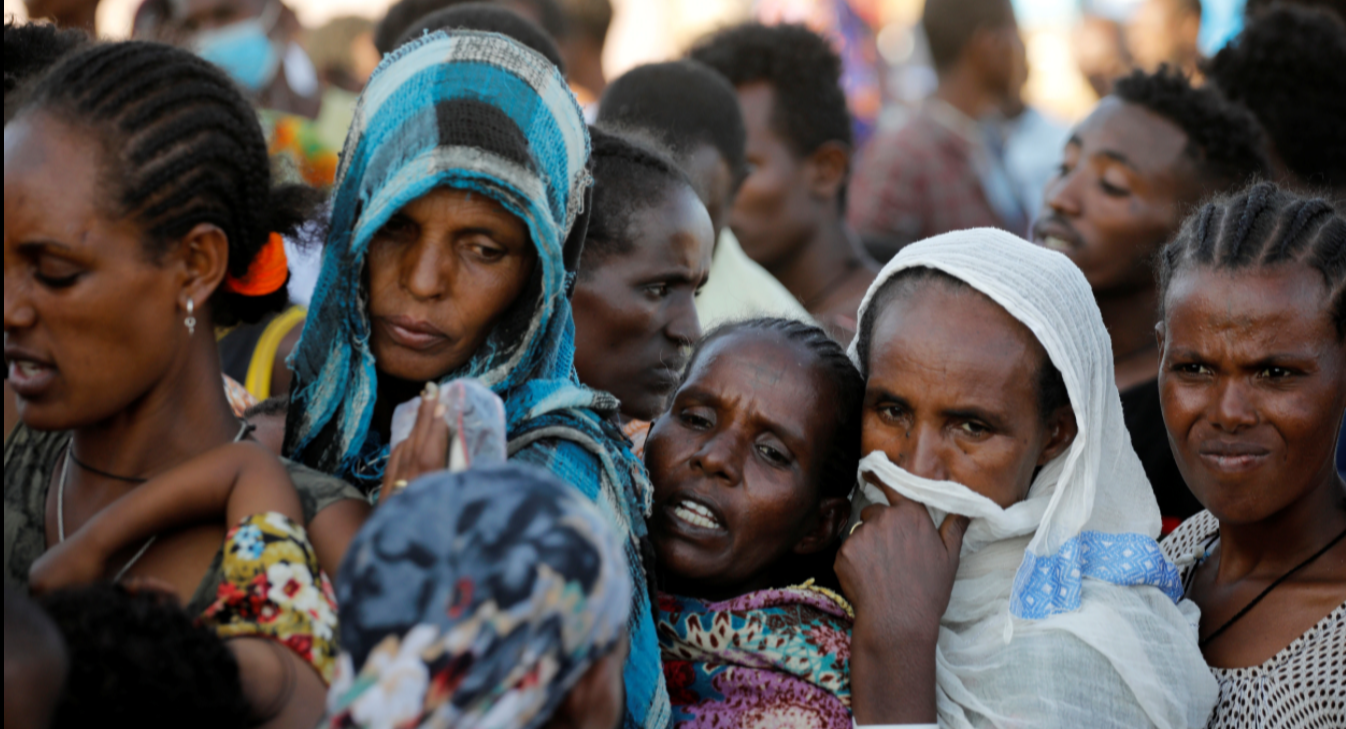 An image depicting women in Tigray, Ethiopia, the focus of the event